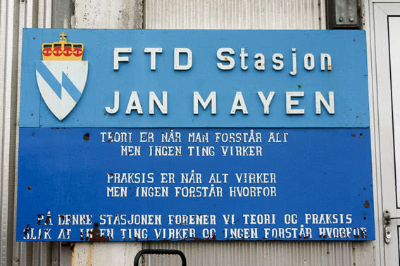 Station on Jan Mayen