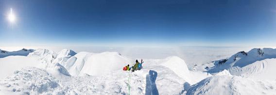 Beerenberg-Pano - 360°-Panoramas